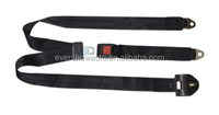 Polyester Manual 3 points safety belt type seat belt cheap price of safety belt (ES8329)
