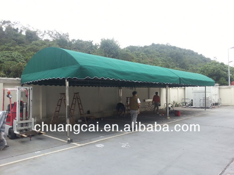 Car canopies and shelter in different sizes
