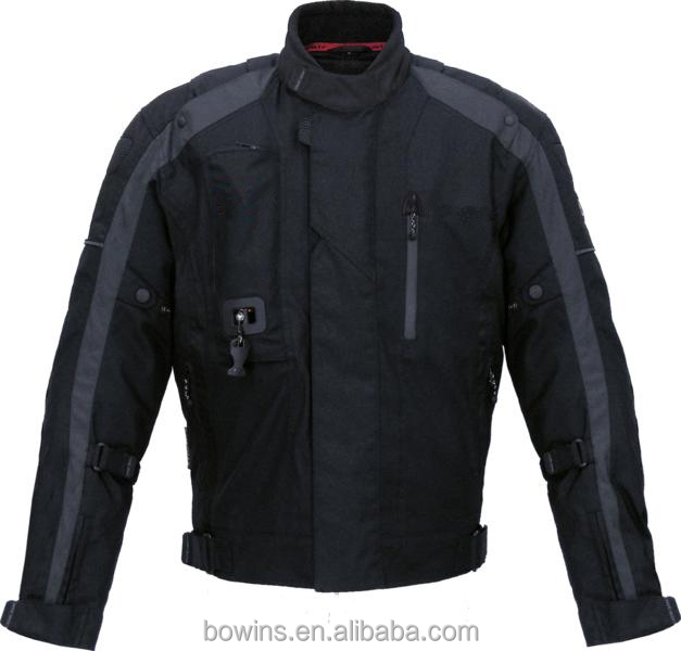 Motorcycle racing jacket Motorbike Cordura on road airbag jacket