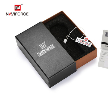 ORIGINAL naviforce watch box NAVIFORCE watch gift packing we sell box with watch together  dont sell empty box