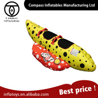 China Supplier Rowing Boats Water Play Equipment Inflatable Flying Fish Banana Boat For Sale