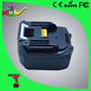 High power rechargeable cordless power tools battery li-ion battery 14.4v MKT BL1430,BL1415,194066-1,194065-3