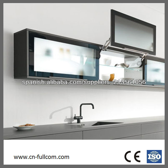 popular moderna de aluminio enmarcado de vidrio esmerilado de ...