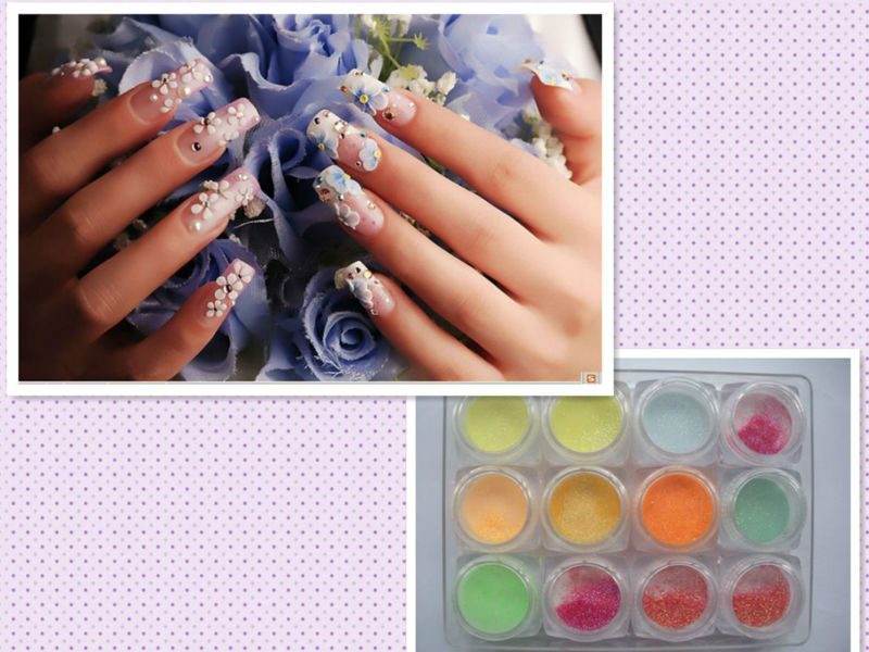 2016 KDS 3D nail art color acrylic powder, Acrylic Powder For Nail