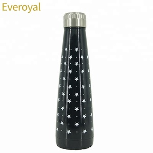 450ml New Design Shape Insulated Double Wall Stainless Steel Cola Water Bottle