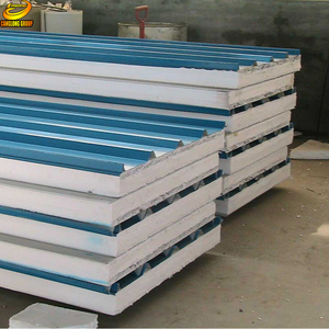 Suppliers In UAE Cheap Price Used Second Hand Tile Corrugated Sandwich  Panel For Sale