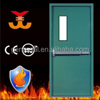 Emergency exit 60 90 mins steel fire proofing doors