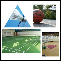 Economic cheap sport PVC flooring/Vinyl sheet for shopping mall