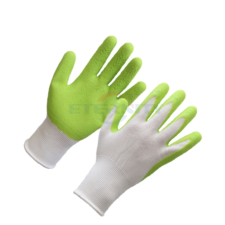 Foam coating work glove for outdoor working