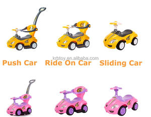 3 in 1 Baby Swing Sliding Car Toddler Kids Push Car toys children Ride On real toy cars