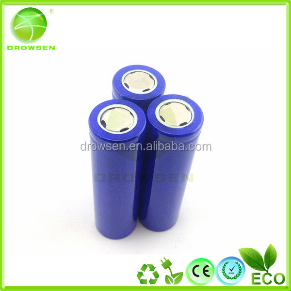 li-ion battery 3.7v 2000mah rechargeable high power high capability CE ROHS