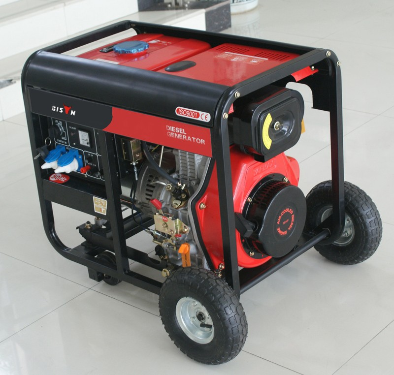 Bison China Taizhou 2.5kva Diesel Generator For Home Use 2500w ...