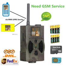 12MP 1080P GPRS MMS game trail camera HC300M with R&TTE SAR