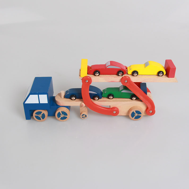 1 65 Alloy Toy Cars Model American Style Transporter Truck: Popular Toy Car Truck Transporters-Buy Cheap Toy Car Truck