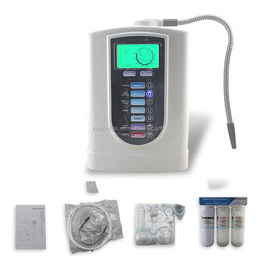 ionizer/alkalized water ionizer with best filter