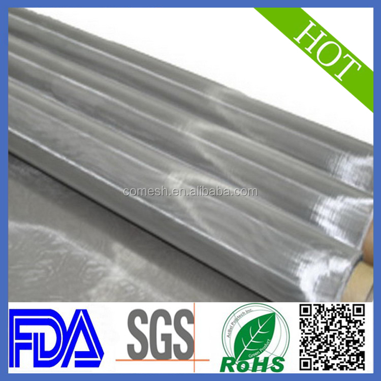 Stainless steel printing wire mesh for 400 mesh count