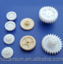 OEM high precision machined parts plastic gears and shaft