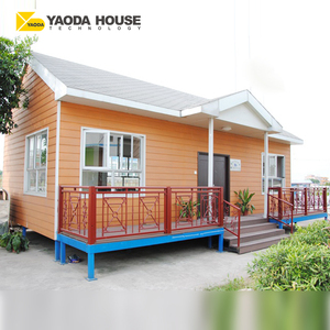 Prefab Beach Bungalow Custom Made Steel Frame Beach Hut Prefabricated House Villa Prices In India