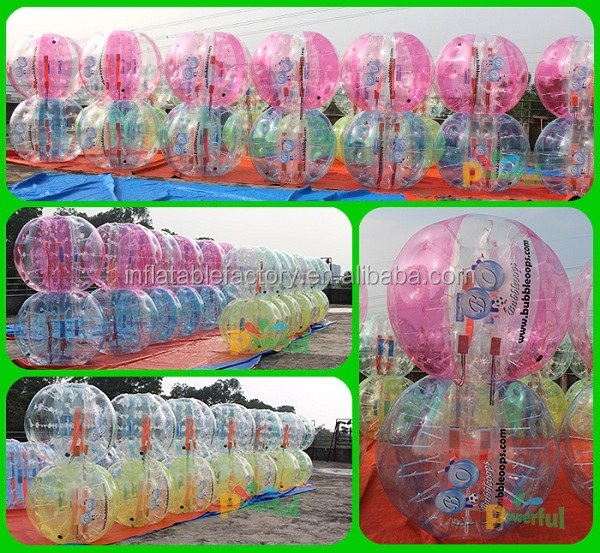 1.5m soccer zorb ball,inflatable football player/led football bubble new design
