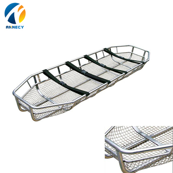 AC-BS005 CE Approved Helicopter stainless steel air ambulance medical basket stretcher