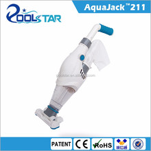 Poolstar AquaJack 210 cordless rechargeable cleaning machine with CE ROHS EMC IPX8 patents for POOL SPA