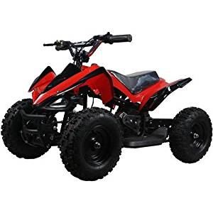 350 Watt Mars Sport Electric Ride on Mini Quad ATV for Kids, Red