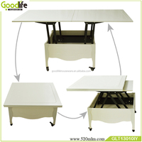 Wooden table expanding design commercial furniture