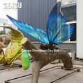 Outdoor Playground Simulation Butterflies Insect