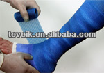 Latex free natural rubber medical elastic bandage