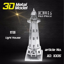 DIY Building Metal 3D Puzzle Model stainless steel alloy sheet crafts blocks toys
