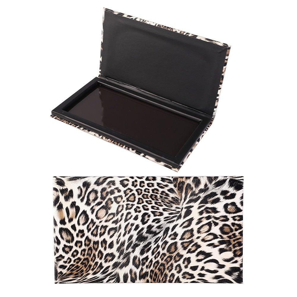 BaiMoon Empty Magnetic Makeup Palette Leopard Magnetic Makeup Palette for Eyeshadow Lipstick Blush Powder