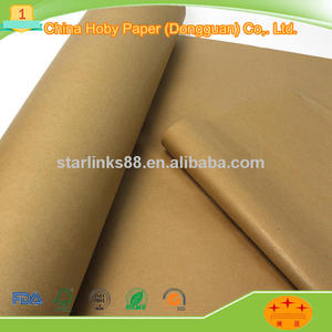 corrugated paper type and wood pulp kraft liner