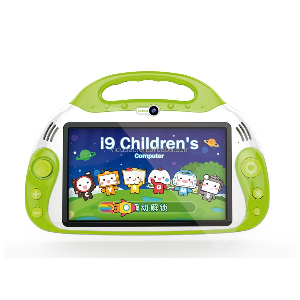 7 inch HD screen educational laptop for children children educational tablet pc