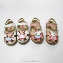 KS10118S New arrive cute cartoon design girls sandal wenzhou shoes