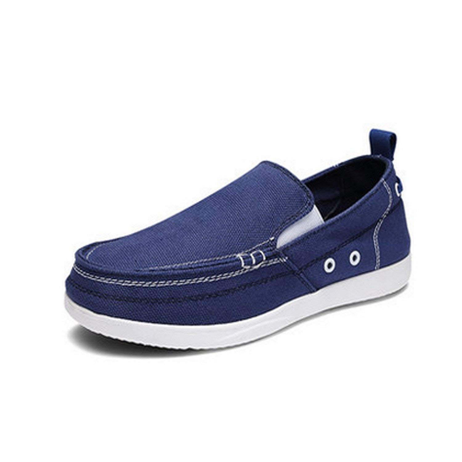 Bradleybla 2018 Spring Autumn Men Ultralight Breathable Casual Men Shoes Comfortable Loafers Lazy Driving Shoes