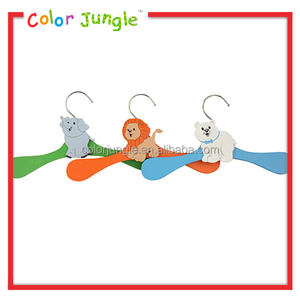 Low price designer luggage clothing hangers, kids wooden hangers hot sale