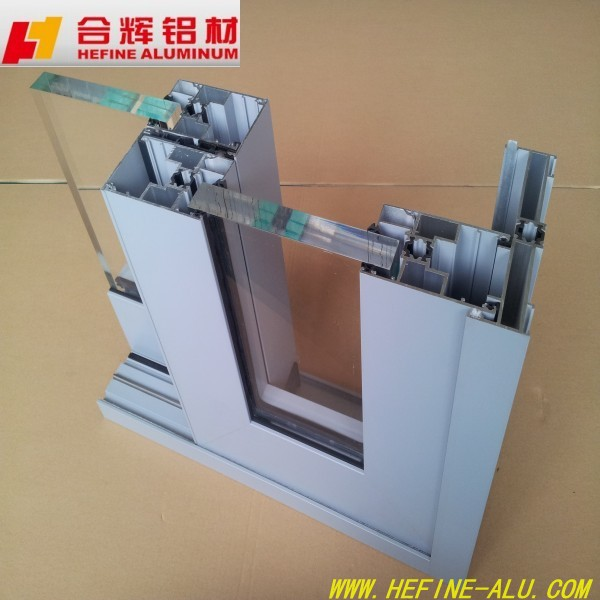 Good quality thermal break aluminium windows and doors with double glass and German hardware