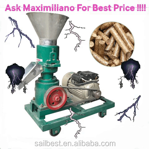 Animal Feed Pellet Mill Pelletizer Granulator