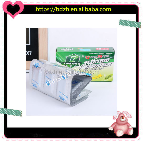 China manufacturer automatic packing machine anti mosquito coil in Aluminum foil roll
