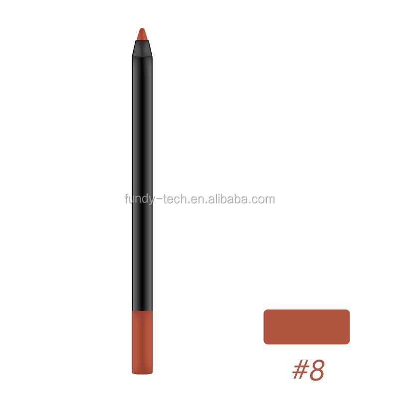 Waterproof Nude Color Matte Lipstick Lip liner Pencil Set Long Lasting Lipliner For Daily Life