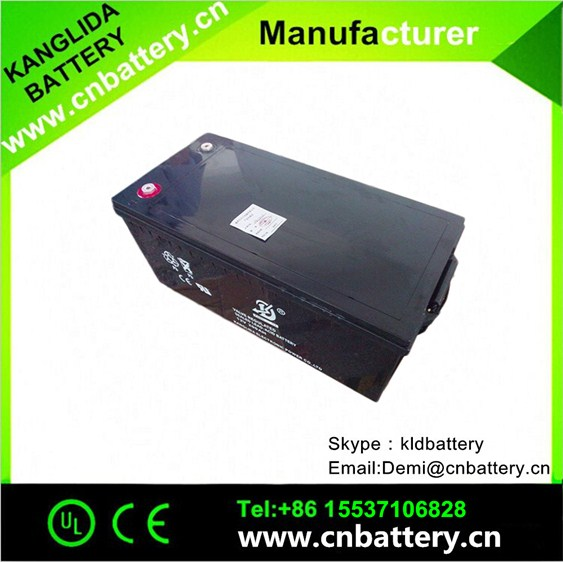 Rechargeable lead acid battery 12v 220ah, solar battery manufacturer