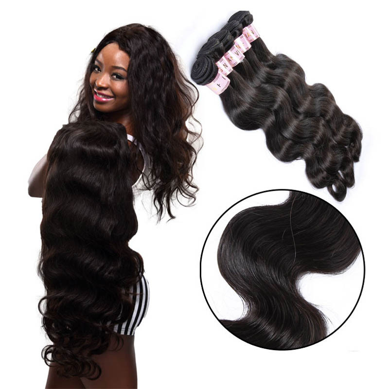 10 12 14 Inch Free Shipping 7A Virgin Indian Remy Wavy Hair