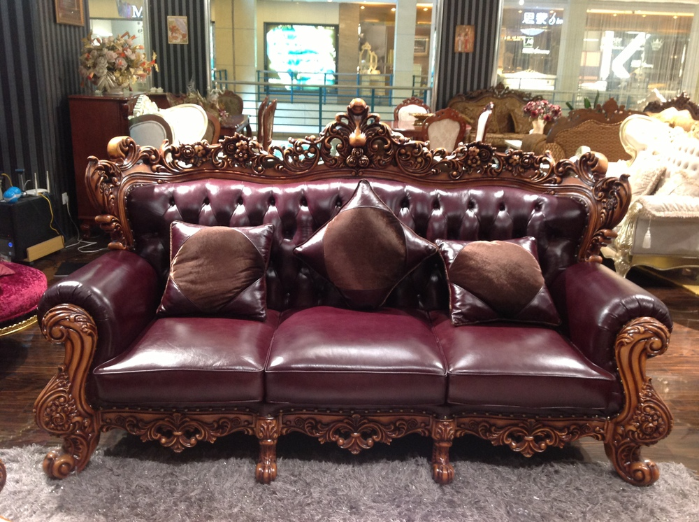 Alibaba Usa Discount Furniture Sectional Leather Sofa