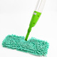 Detachable handle Curved rod double side aluminium floor spray cleaning steam cleaner microfibre dust dry mop