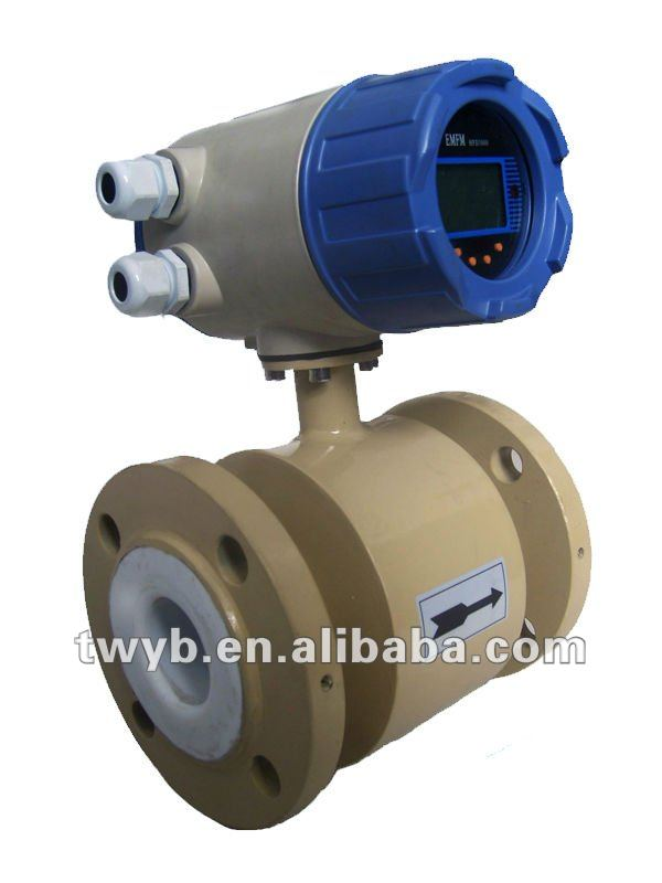 Electromagnetic Flow Meter for conductive liquid water