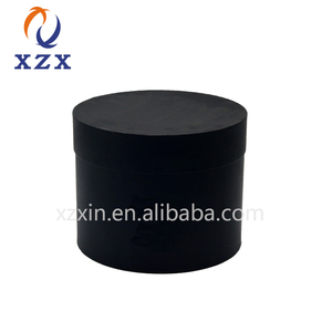 luxury round hat flower paper gift packaging box