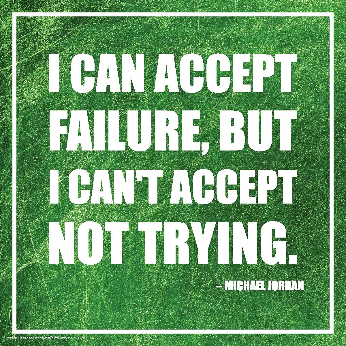 Buy Michael Jordan Failure Inspirational Motivational Sports