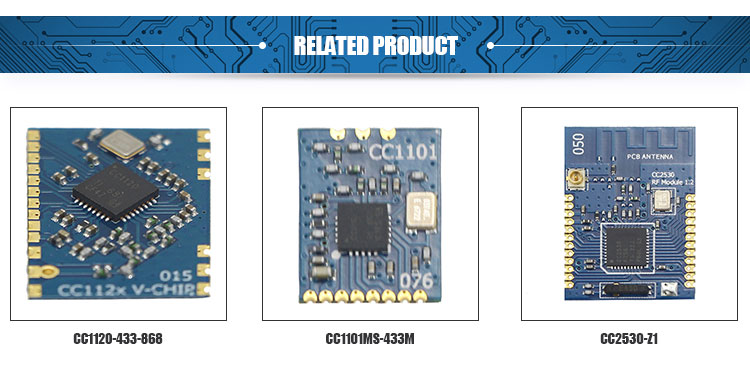New product of TI cc1310 development kit new board USB cable