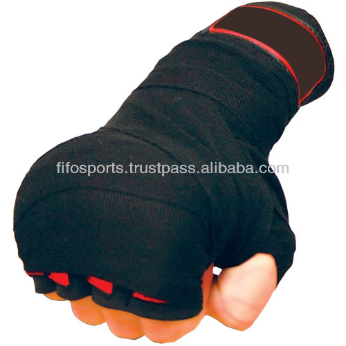 Gel-Padded Inner Hand Wrap Gloves