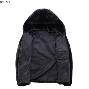 2016 Hot New Design Jacket Mink Fur Short Hair Men Coat